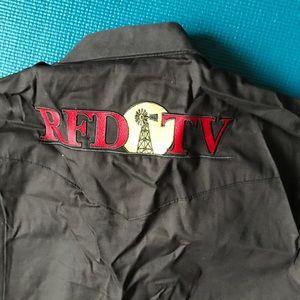 RFD TV embroidered Wrangler shirt Large